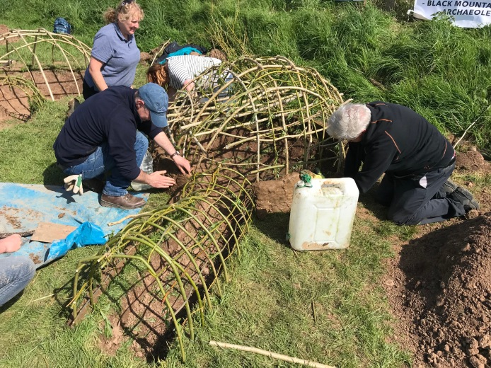 Experimental Archaeology - Medieval Corn Dryer