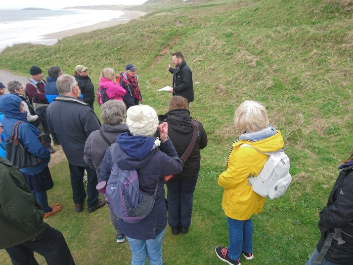Richard Lewis - Guided walk of the Deserted Medieval Village
